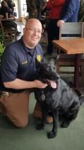 Sergeant Scott Holmes and Miro