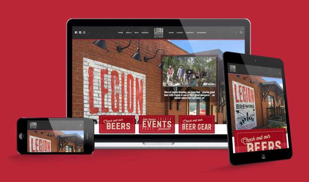 Legion Brewing Company Website