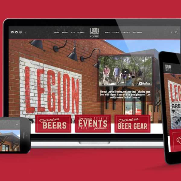 Legion Brewing Company Website