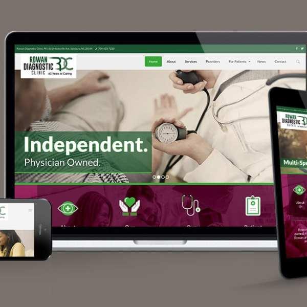 Rowan Diagnostic Center Website