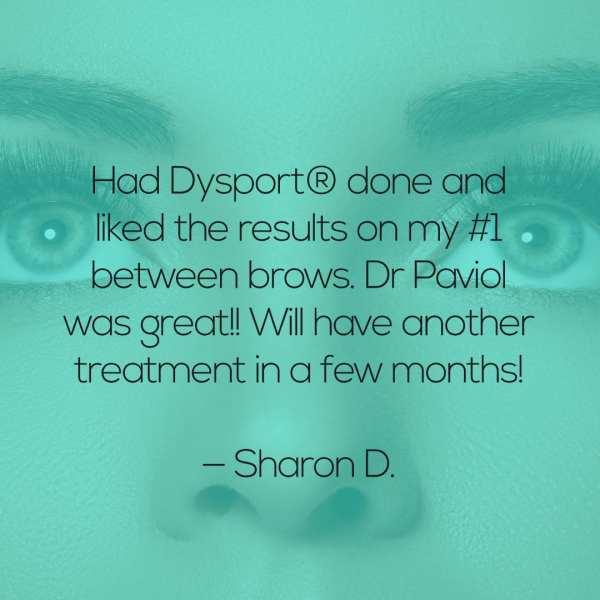 Mooresville Dermatology – Dysport Testimonial