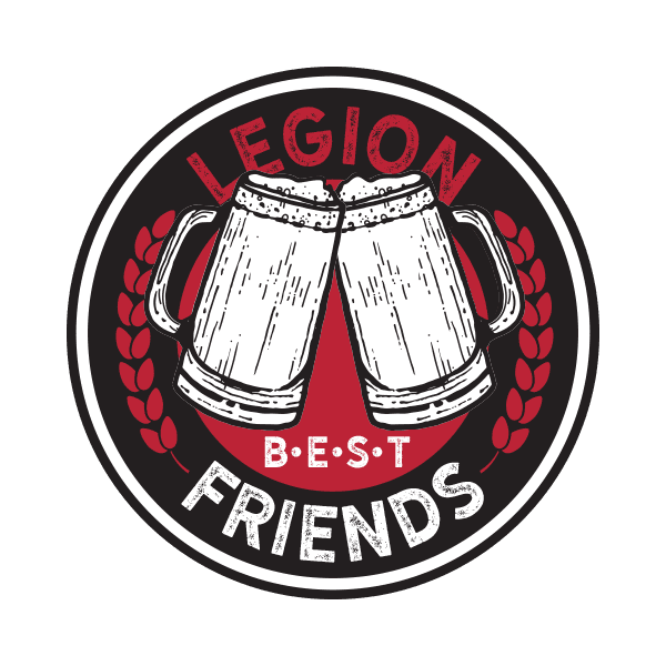Legion Brewing Loyalty Logo Coin Back