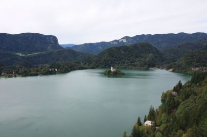 A holy place at Lake Bled, Slovenia.