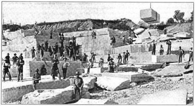 Barre Vermont stone cutters 1902