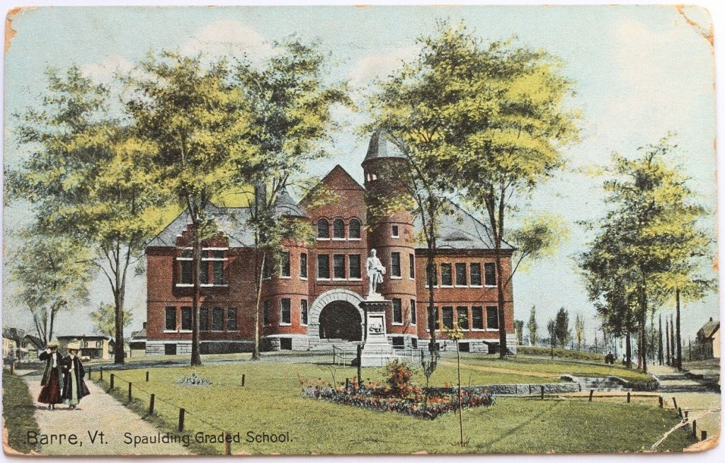 Spaulding Graded School in 1908