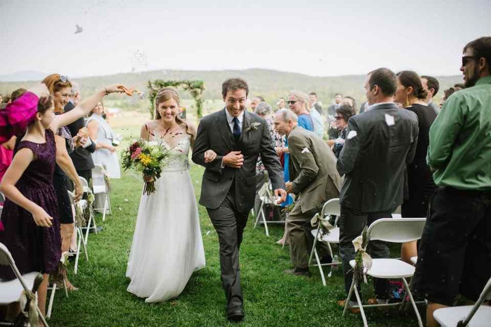 Isham Farm wedding