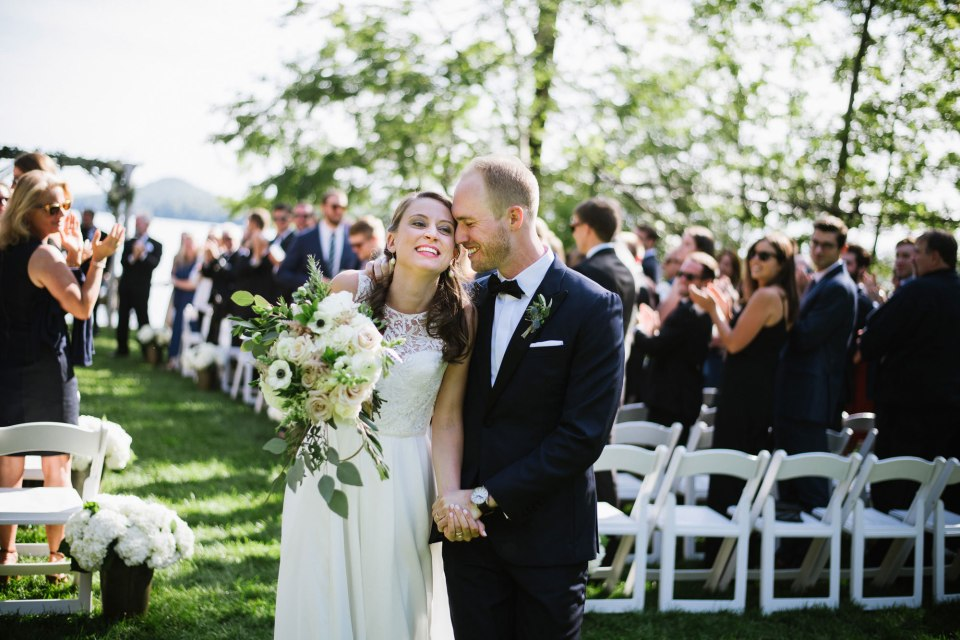 Lake Dunmore Vermont Wedding