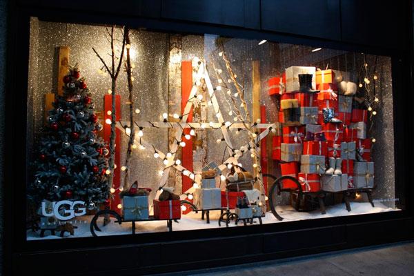 Новогоднее оформление витрин – привлечение клиентов в пору ...