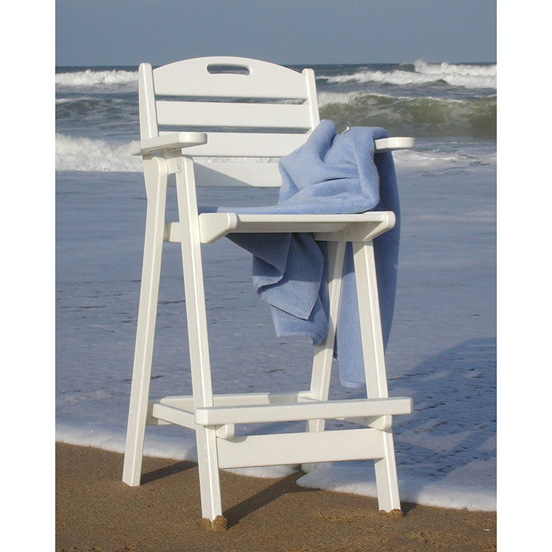 Outdoor Bar Height Chair Polywood All Weather Patio
