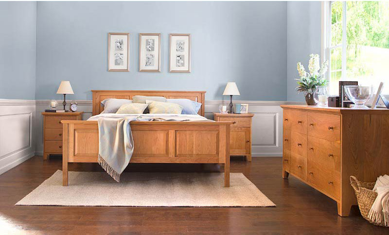 american country 1 bedroom set