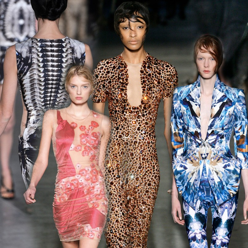 ALEXANDER McQUEEN: NATURAL DIS-TINCTION UN-NATURAL SELECTION SS 2009