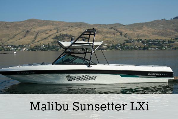 Malibu Sunsetter Ski Boat