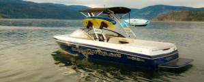Vernon wake or surf Boat Rental