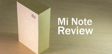 Xiaomi Mi Note review