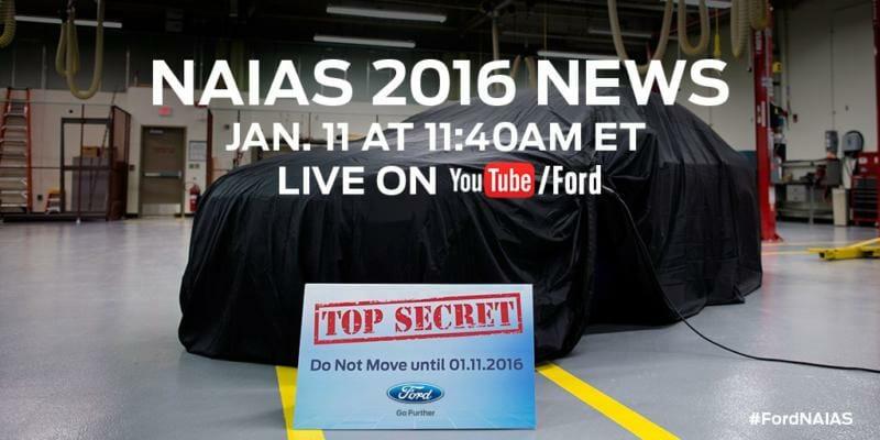 2017 Ford Fusion NAIAS