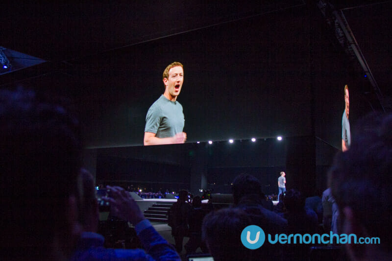 Mark Zuckerberg @ Samsung Unpacked