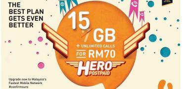 Hero Postpaid P70