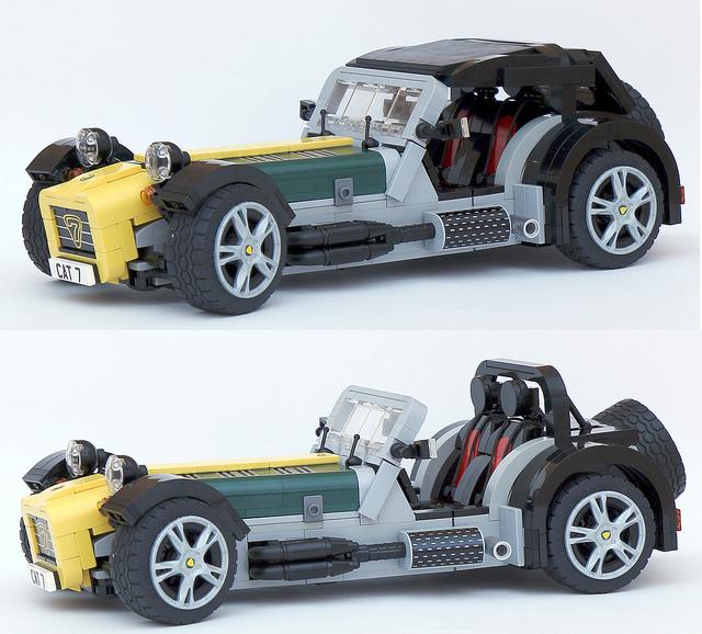 LEGO Ideas Caterham Super Seven Kit Gets Green Light For