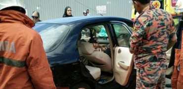 Honda airbag mishap