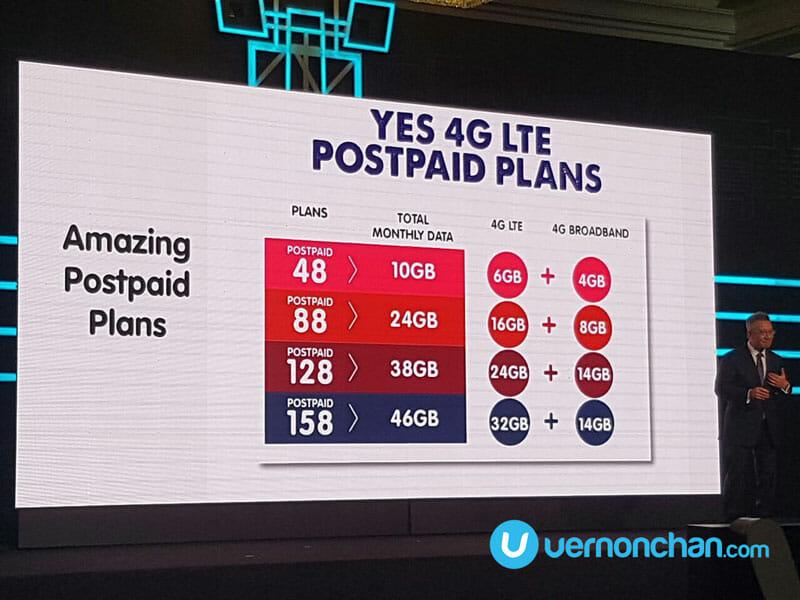 Yes 4G Prepaid