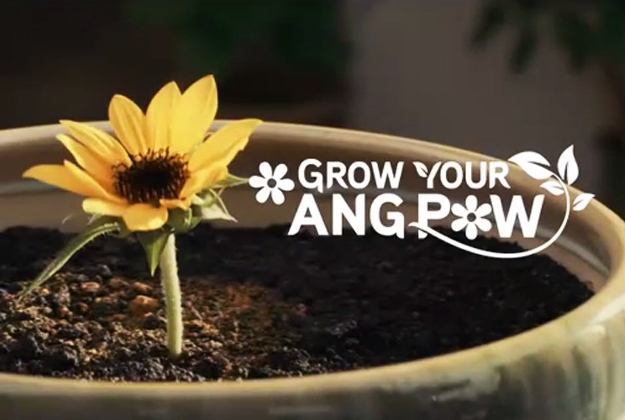 Maxis Plant-A-Blessing Ang Pow
