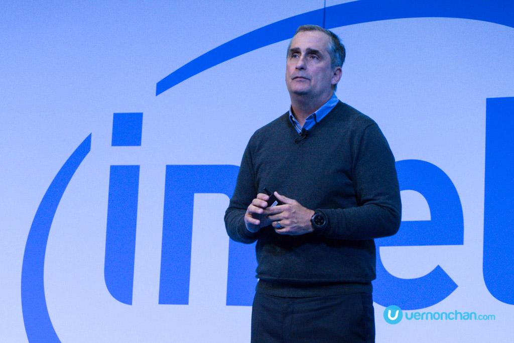 CES 2017 Intel Press Con