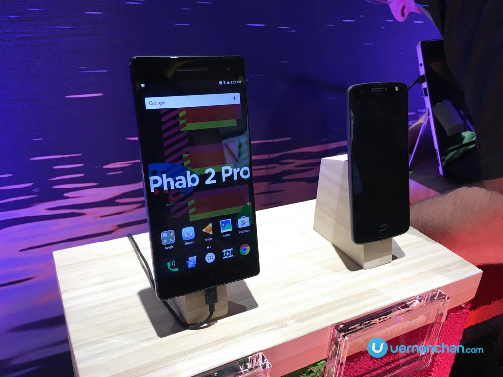 CES2017 Lenovo Phab 2 Pro