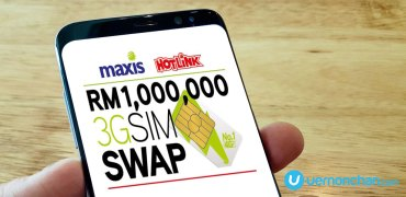 Maxis 3G SIM Swap