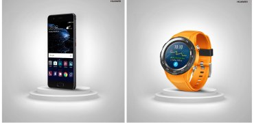 Huawei P10 and Watch 2 EISA