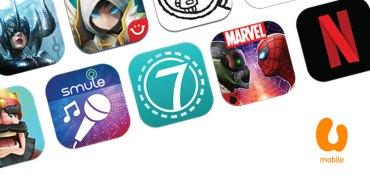 U Mobile carrier billing Apple App Store