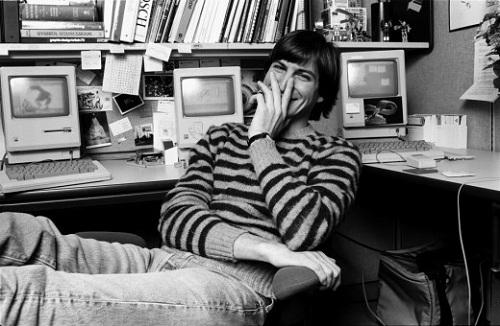 Steve Jobs. Image credit: Norman Seeff