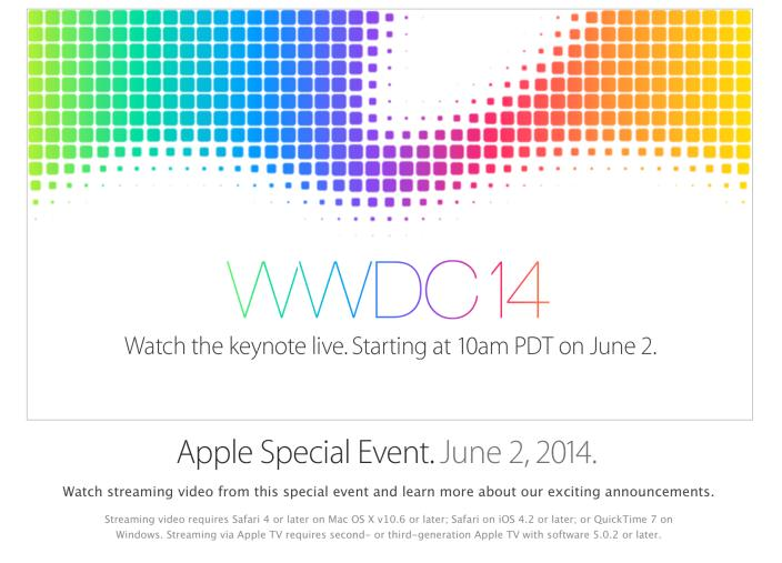 AppleWWDC2014