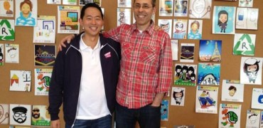 David Ko, chief mobile officer, Zynga & Dan Porter, CEO, OMGPOP