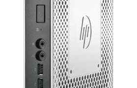 HP t610Slim Flexible Thin Client_left