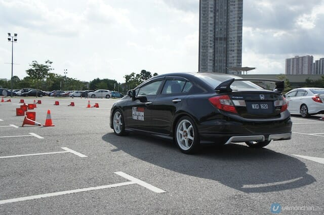 Honda Civic Blogger Drive
