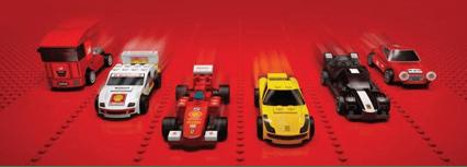 LEGO Ferrari Cars