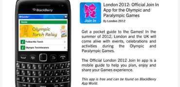 Olympics-apps for BlackBerry