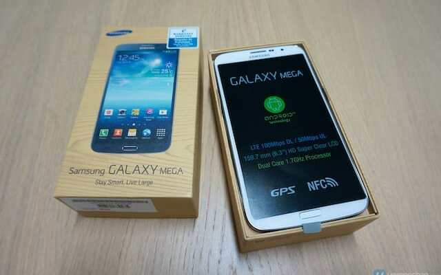 Samsung GALAXY Mega 4