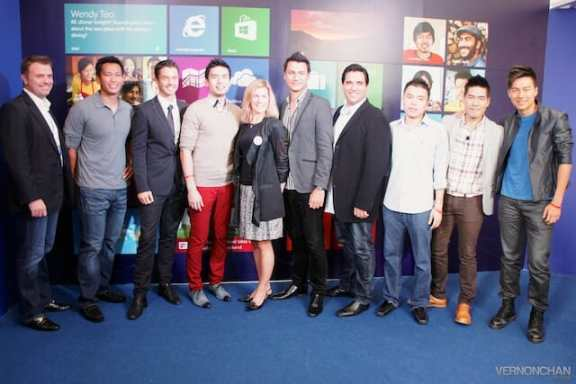 Windows 8 Launch Singapore