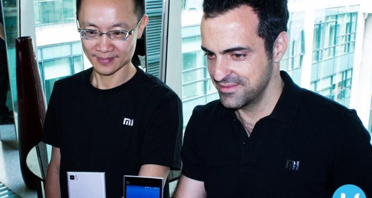 Xiaomi Bin Lin and Hugo Barra