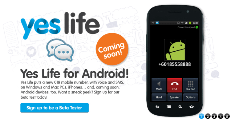 Yes-Life-Android-app