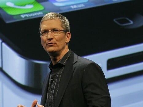 Apple CEO, Tim Cook. Image source: WorldTVPC