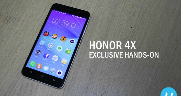 Honor 4X review