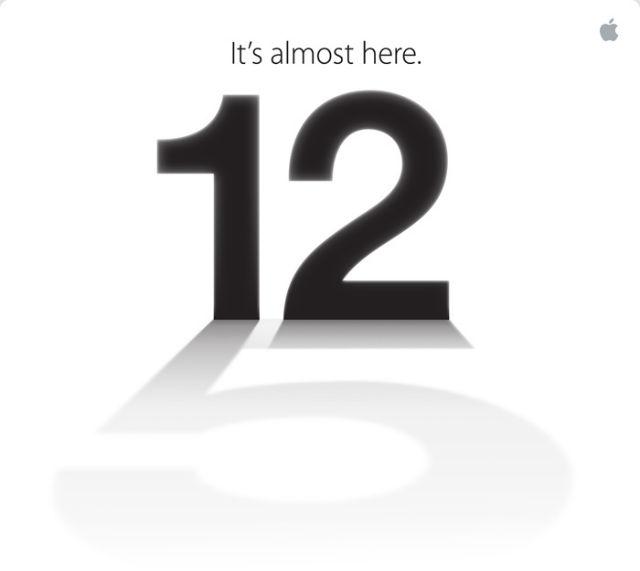 iPhone 5 Event. Image source: Mashable