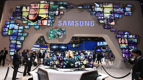 File pic: Samsung @ CES 2011