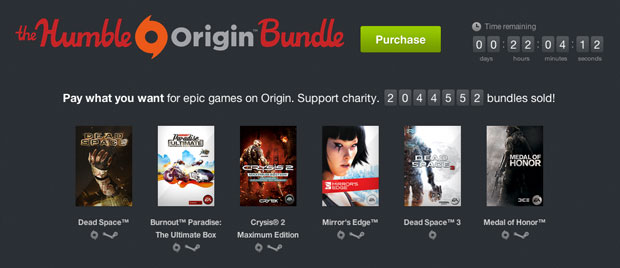 The Humble Origin Bundle Coming to an End in Less Than 24 ...