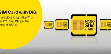 DiGi nano-SIM. Image credti: DiGi