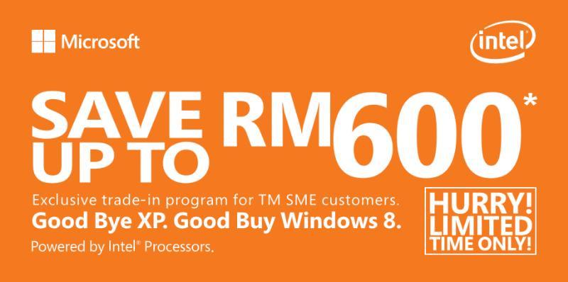 Good bye XP. Good buy Windows 8