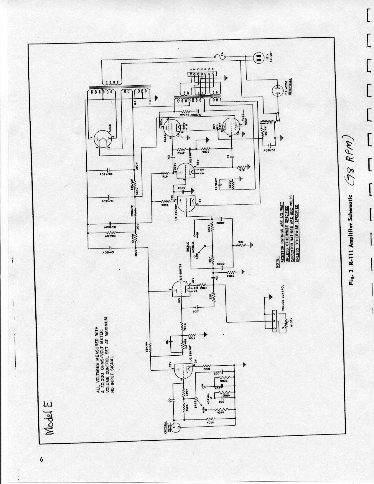 Ami Model Dd Amplifier Wiring
