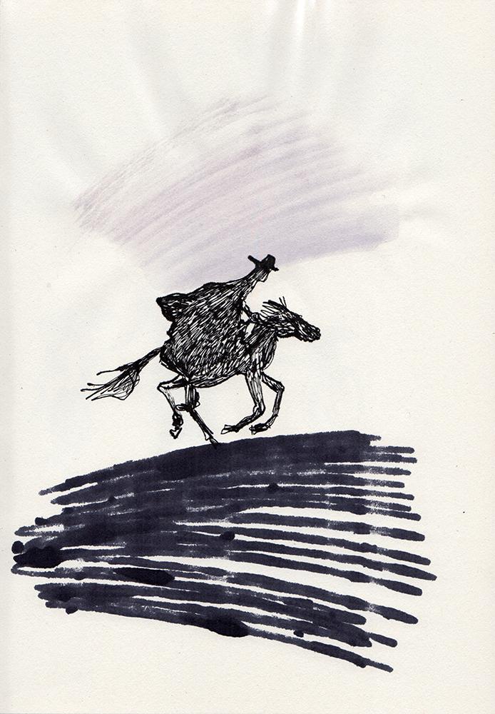 A horseman known as Zorro © Vero Beauprez